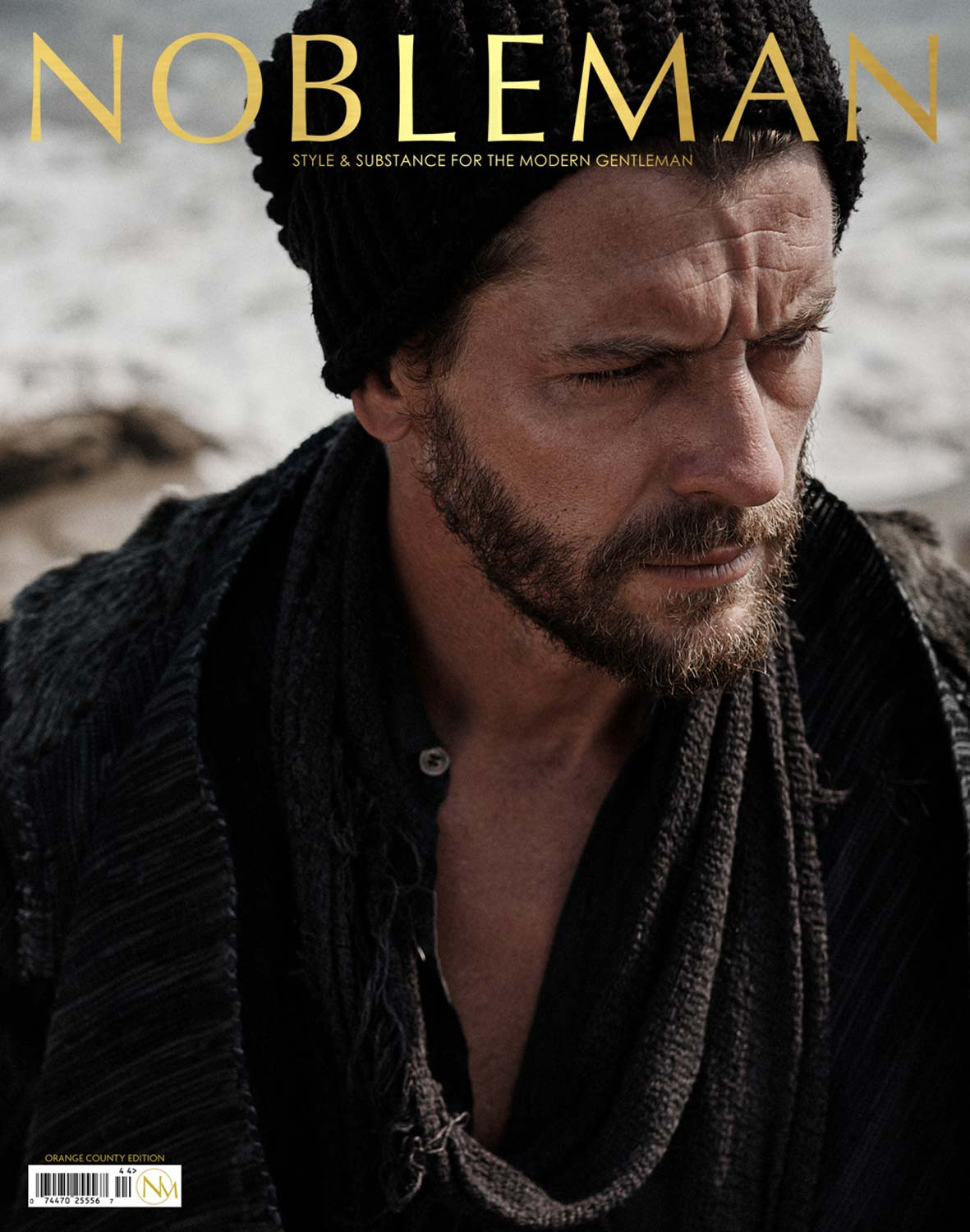 NOBLEMAN  PREMIERE ISSUE COVER